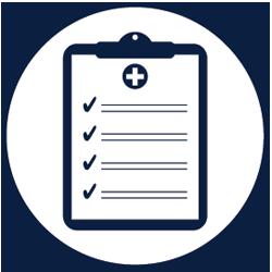 emergency management icon clipboard preparedness